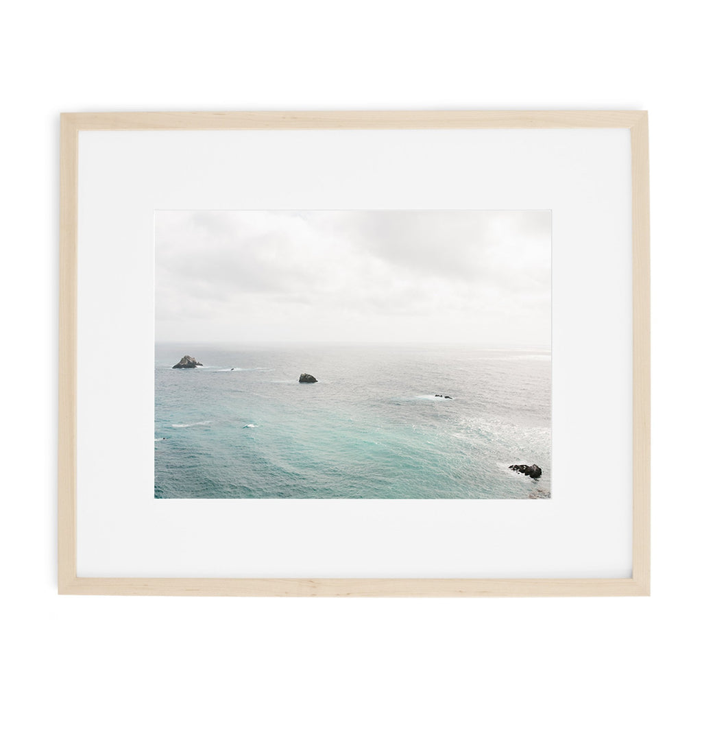 big sur california ocean print