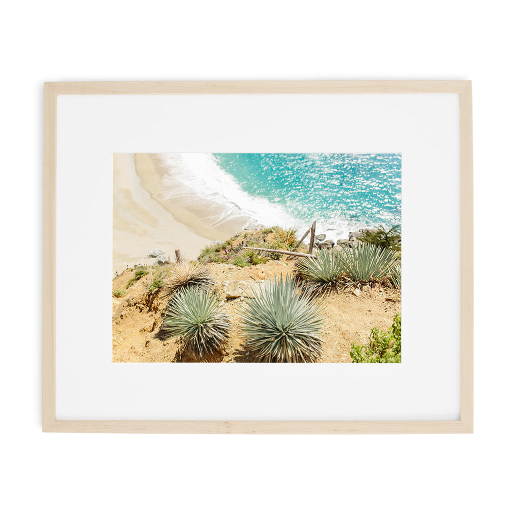 big sur beach print