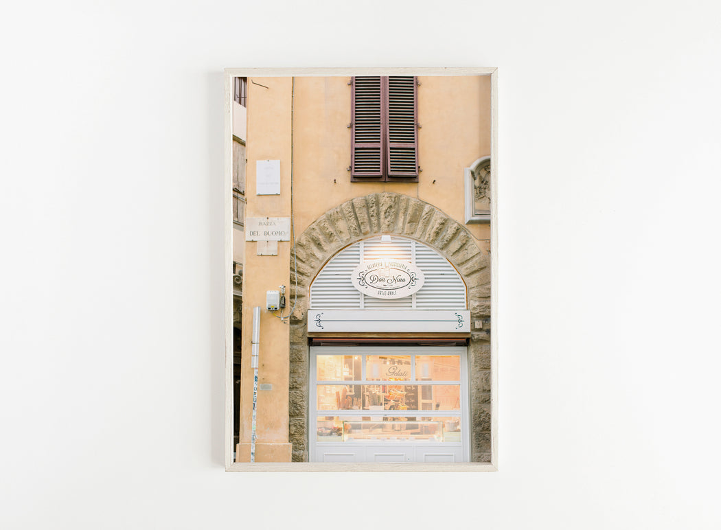 florence street sign print
