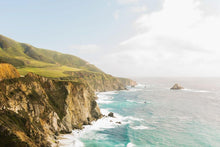 big sur california coastline print