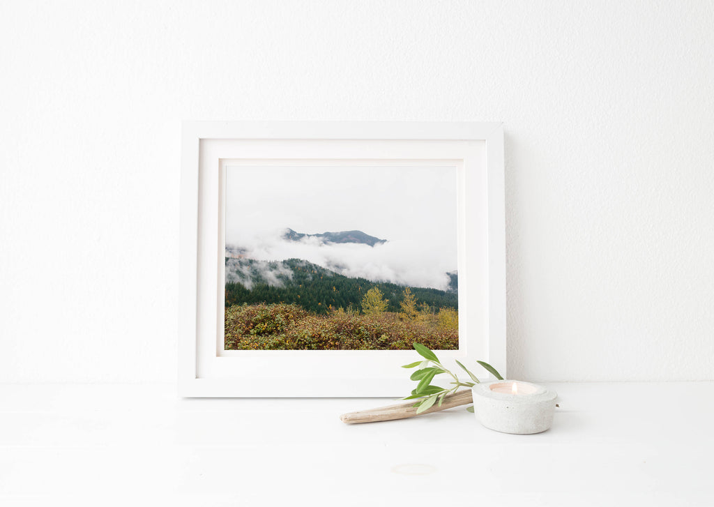 oregon mountain print