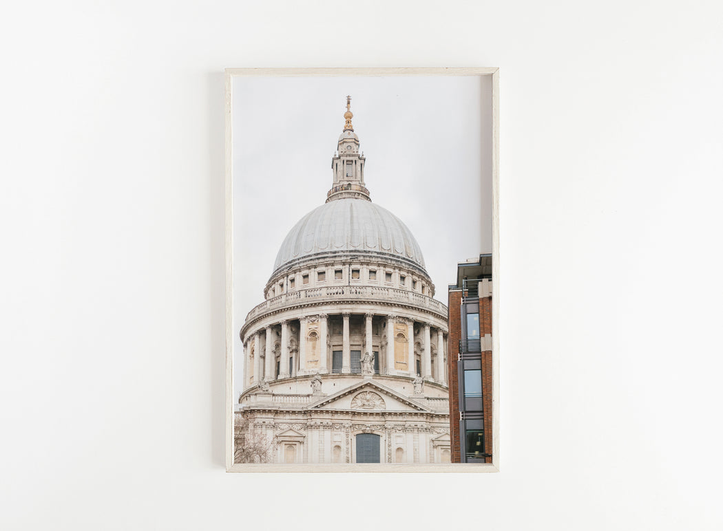st. paul's cathedral london print