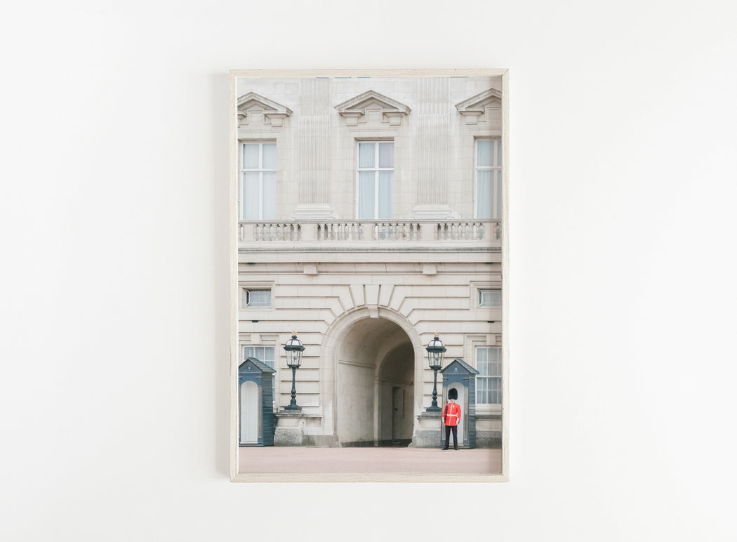 buckingham palace guard print