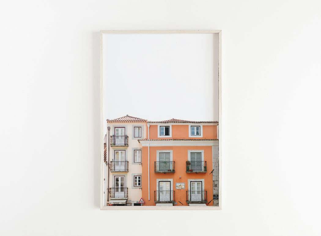 lisbon portugal apartment print