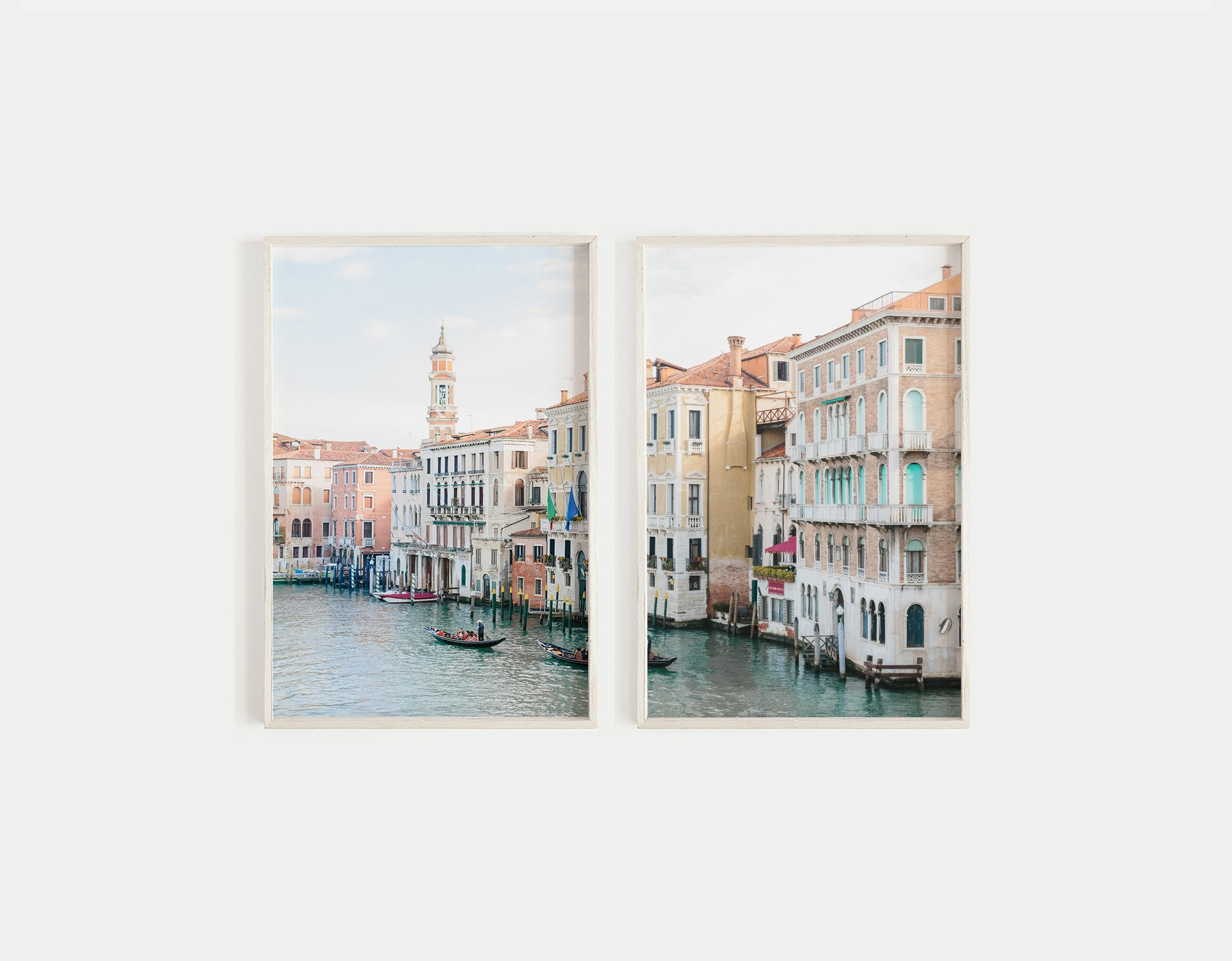 venice grand canal gallery wall print set of two