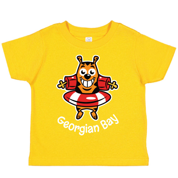 Toddler Fun T-shirts- Cat - Gold