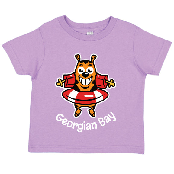 Toddler Fun T-shirts- Cat - Lavender