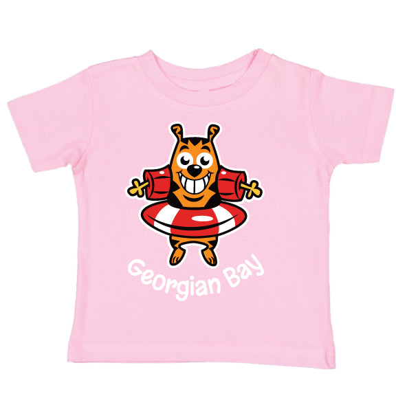 Toddler Fun summer T-Shirt- Cat - Pink