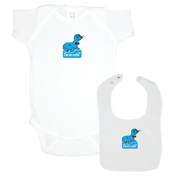 Onesie and Bib imsocuteapparel.ca