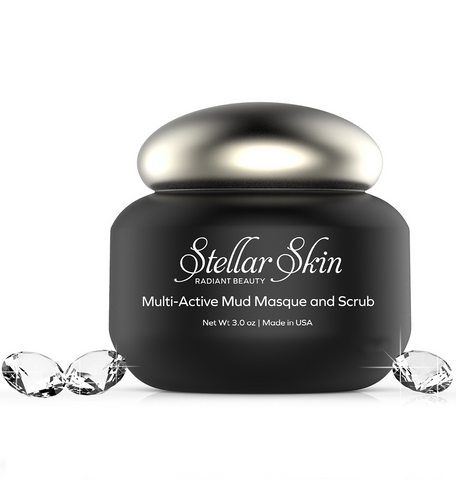 Image of Face Scrub and Mud Mask in One
