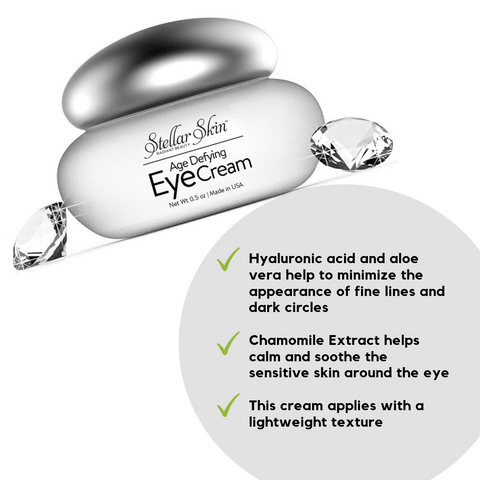 Image of Eye Cream with Hyaluronic Acid - Liberte Austin Collection