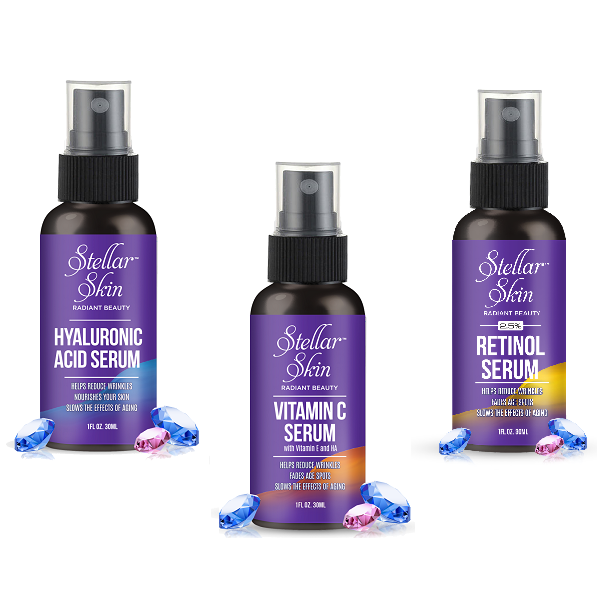 Facial Serum Trio Special Offer