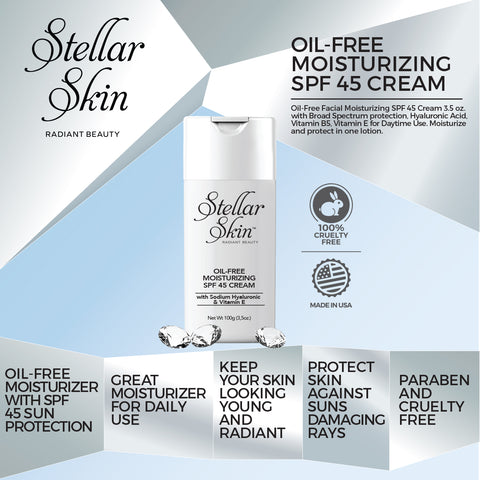 Image of Oil-Free Moisturizing SPF 45 Cream