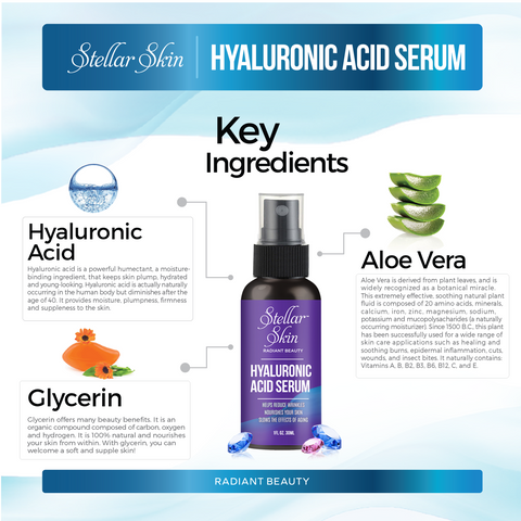 Image of Natural Hyaluronic Acid Serum