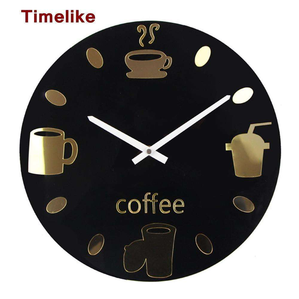 Hot selling wall clocks modern coffee cups wall watch design brown cow co kitchen clock hot selling wall clocks modern coffee cups wall watch design relogio amipublicfo Choice Image
