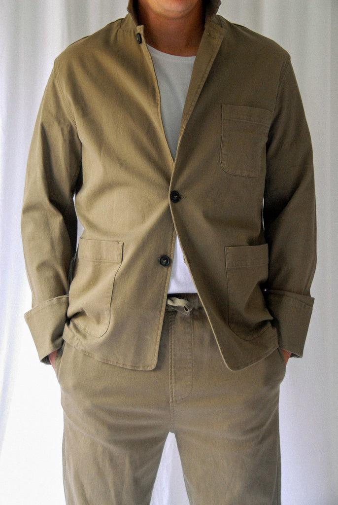 Boy Jacket Dusky Green (unisex)
