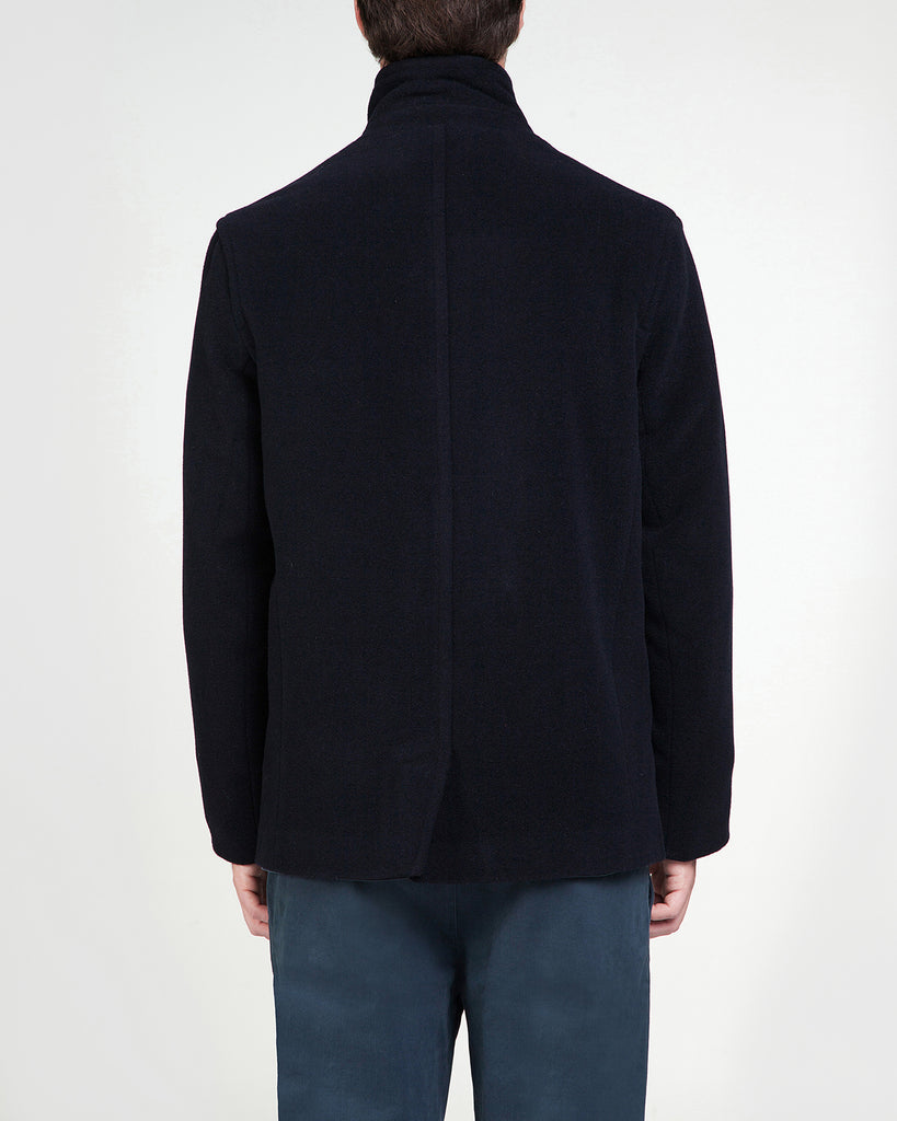 Cashmere coat Sylvester dark navy