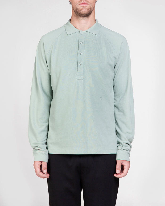 LOU mint-green polo