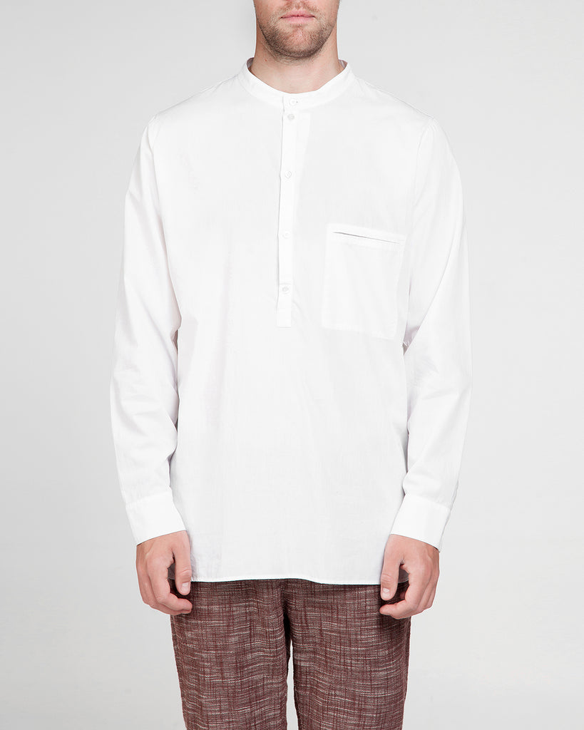 Garment dyed Poplin Shirt Vic