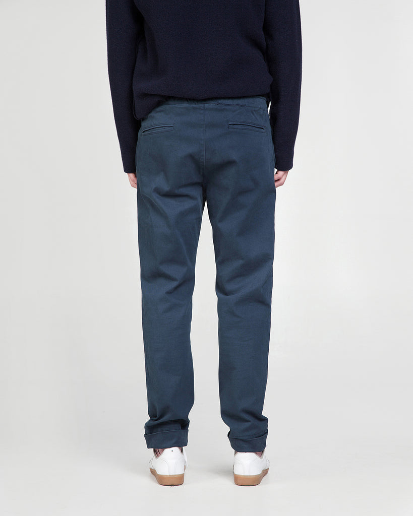 Jeff trousers garment dyed
