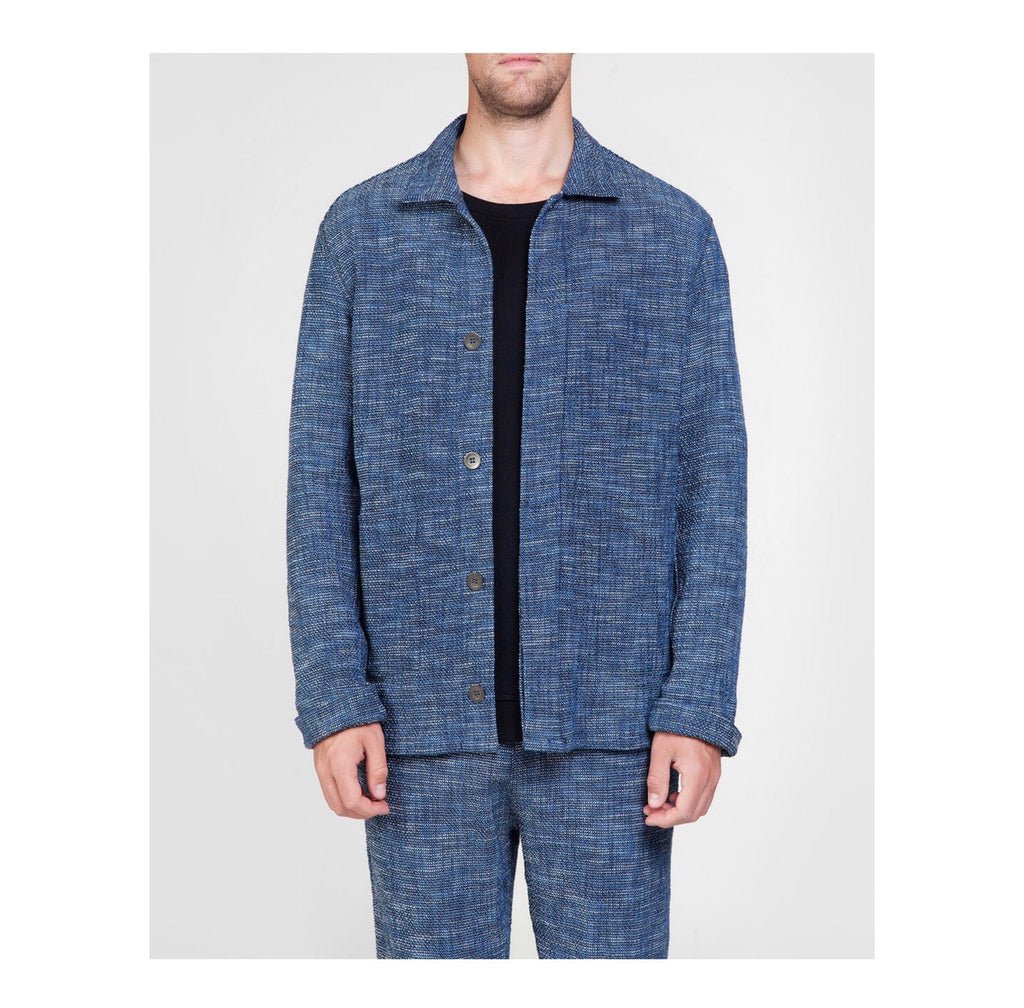 Jacket james blue melange