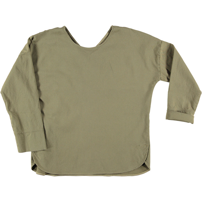 Sophia top dusky green