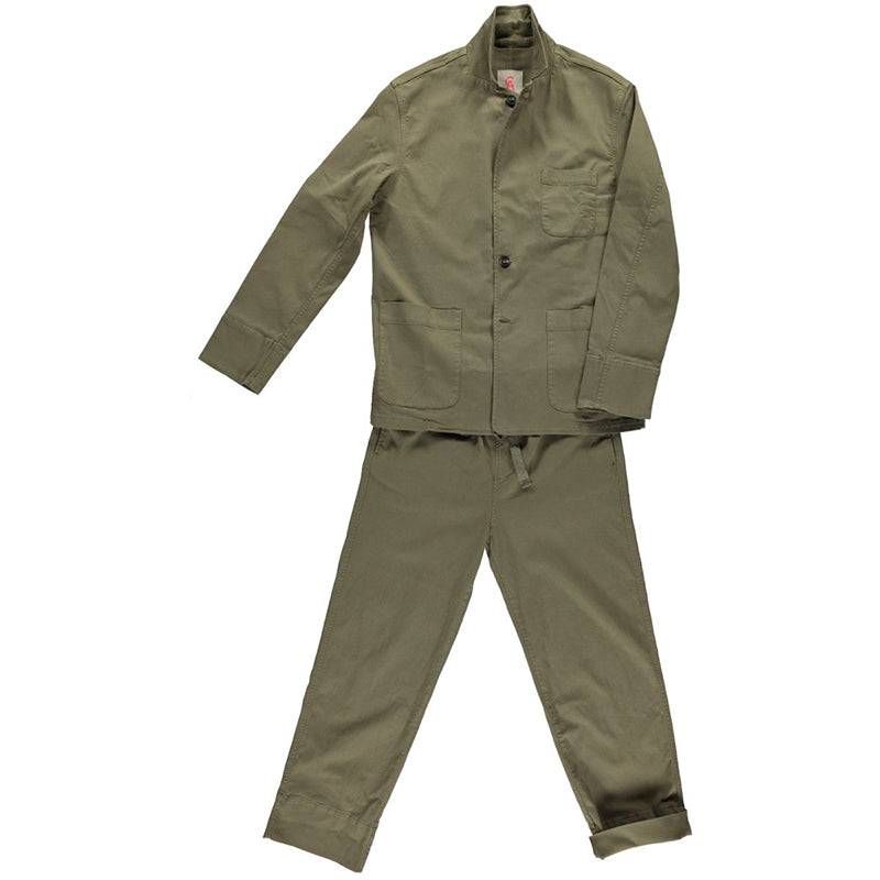 Boy Jacket Dusky Green