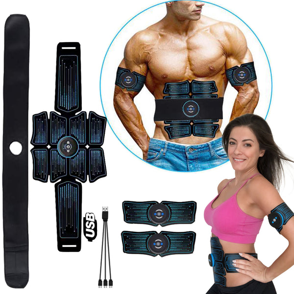 7 PCs  ABS Stimulator Muscle Toner - 8 Pack