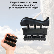 The Largest Resistance Range Hand Grip Strengthener + Finger Exerciser + Finger Stretcher