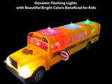 Battery Operated Bump n' Go School Bus