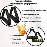 Resistance Bands Set for Home Gym | Workout Bands / Exercise Bands Stackable up to 150 Lb.