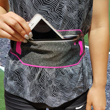 Ultra-Thin Water Resistant Running Belt - Pink