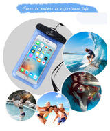 1 PK Waterproof Pouch + 1 PK Waterproof Case