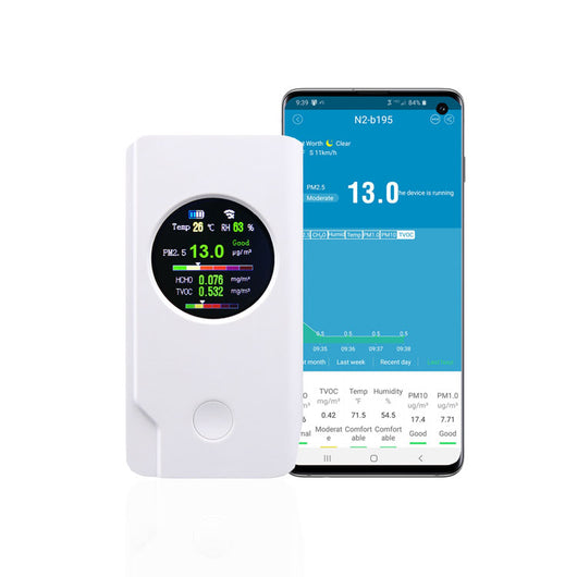 Air Quality Monitor with WI-FI App