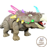 Battery Operated Triceratops Dinosaur Kids Toy