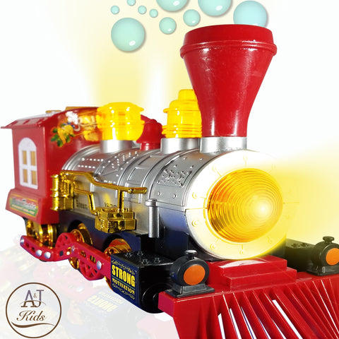 Battery Operated Bubble Train Toys