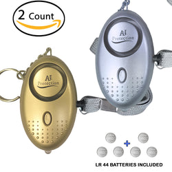 2PK 130-135 dB Premium Emergency Personal Alarms