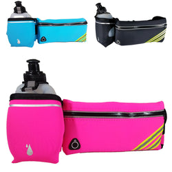 Hydration Running Belt with Water Bottle