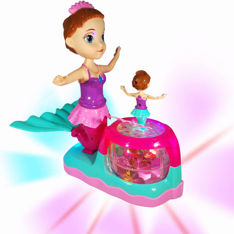 Battery Operated Mermaid Toys for Girls Age 4 - 6
