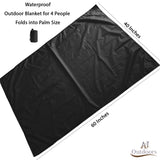 Pocket Blanket/Picnic Blanket (4P/6P) | Waterproof and Sandproof Beach Blanket