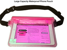 2 PK Waterproof Pouch (Black/Pink)
