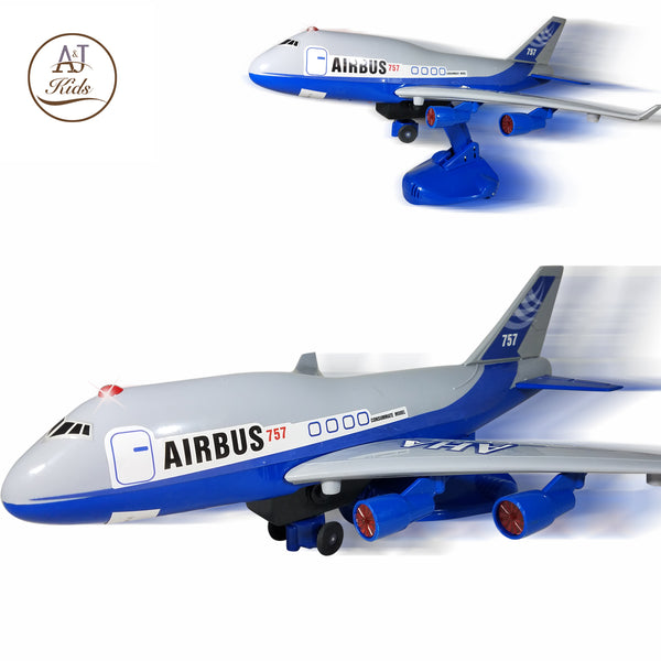 Battery Operated Airplane Toy for Boys and Girls