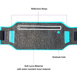 Ultra-Thin Water Resistant Running Belt - Blue