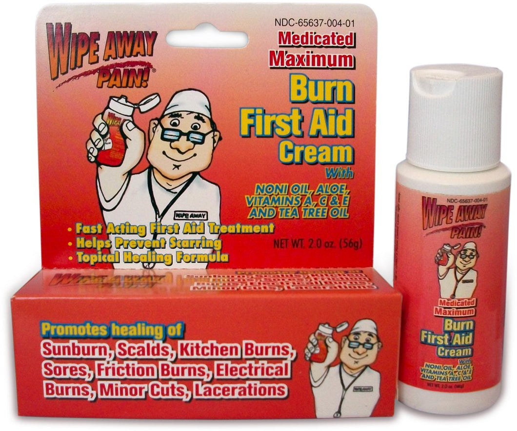 First Aid Burn Relief Cream 2 oz