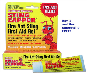 Fire Ant Gel Special Offer – Buy 3 and the Shipping is FREE!