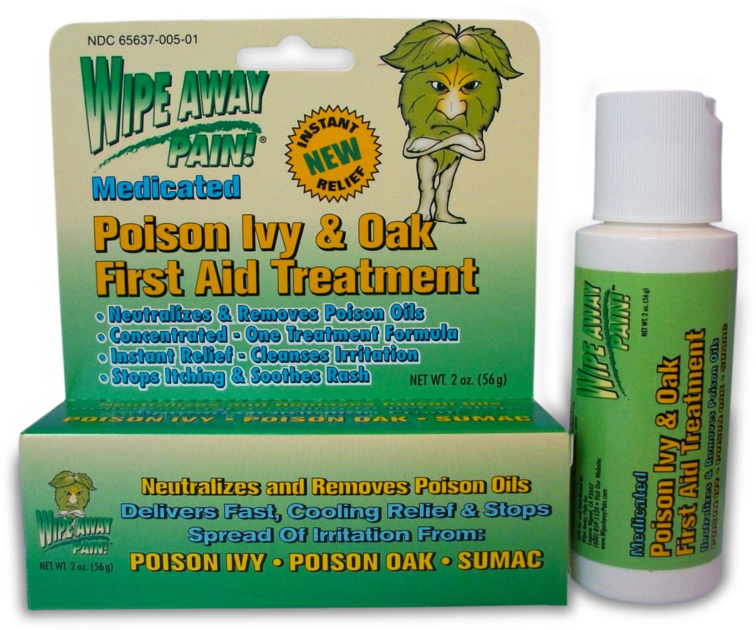 Poison Ivy & Oak Relief Cream 2oz tube