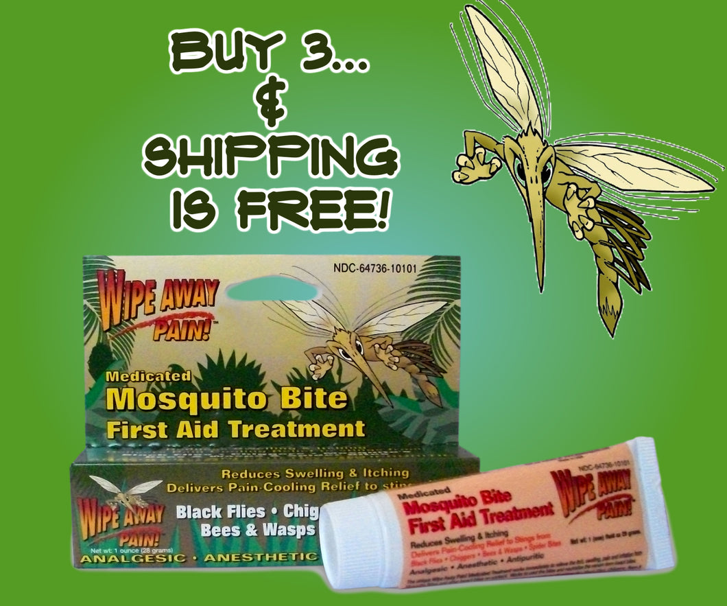 Sting Zapper Mosquito Gel Special Offer – Buy 3 and the Shipping is FREE!