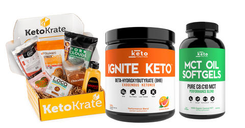 Keto Snack and Supplement Giveaway