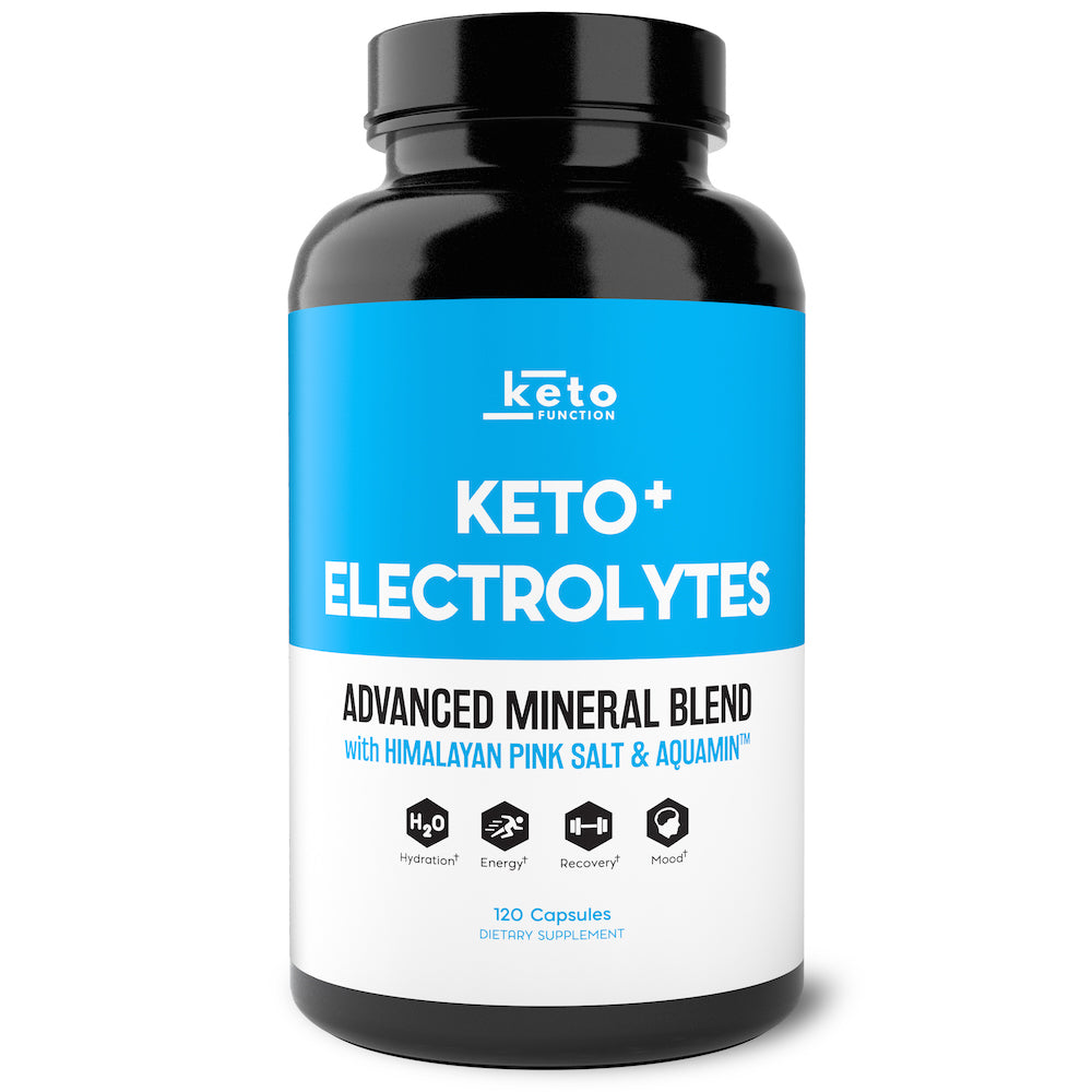 Keto Function electrolyte supplements bottle