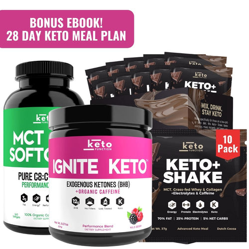 New Year Keto Kickstart Bundle - 35% Off